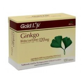Gold Life Ginkgo Biloba Leaf Extract 120mg 120 tablets
